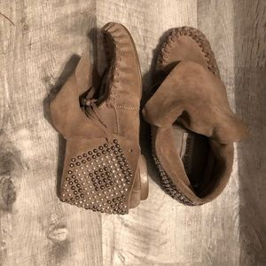 Steve Madden Moccasin Booties
